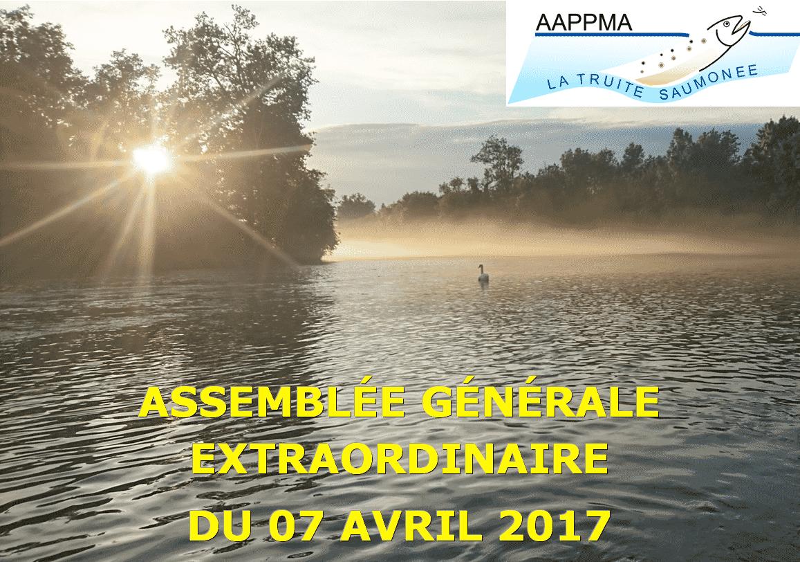 Assemblé générale extraordinaire 2017