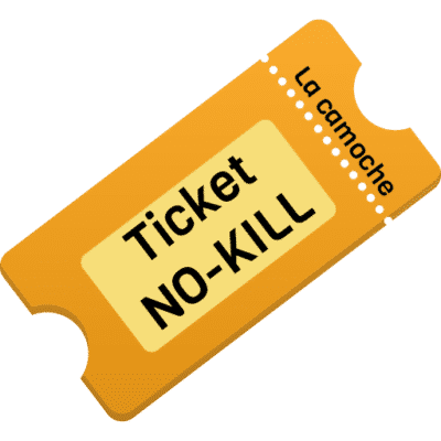 ticket-nokill la camoche enquête