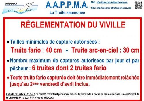 2021 Panneau reglementaire 2021 AAPPMA Viville reduit